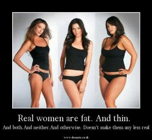 The Battle Between Skinny and Curvy