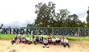 Kindness Counts Sevice Project with 4th grade girls